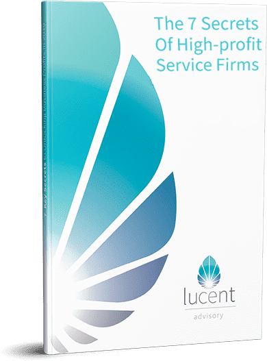 The 7 secrets of high-profit services firms Cover
