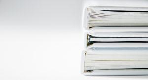 stacks of finance folders